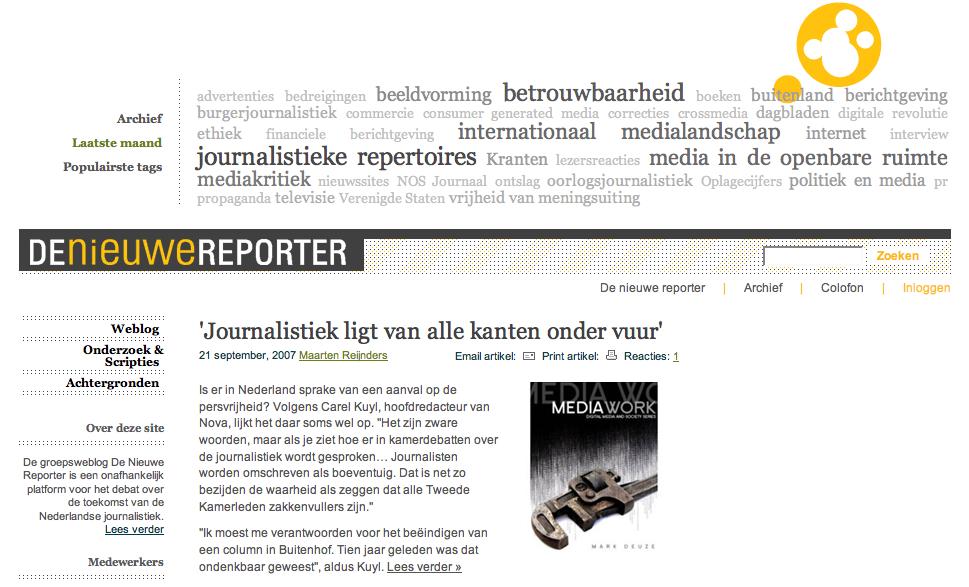 De Nieuwe Reporter